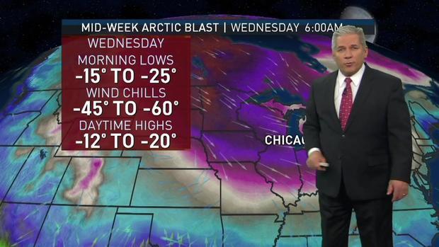 Pourquoi Chicago sera si froid cette semaine