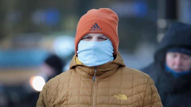 Peu de temps après une gelure peut survenir dans un froid dangereux