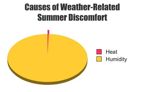 Pensées hilarantes et sincères des coureurs en été