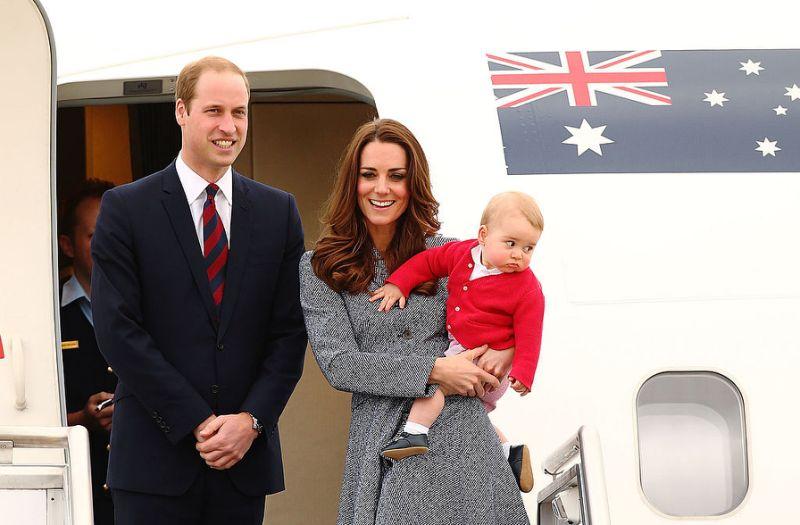Prince George n'avait que huit mois lorsqu'il entreprit une tournée royale en Australie et en Nouvelle-Zélande en 2014 (Photo: Getty)