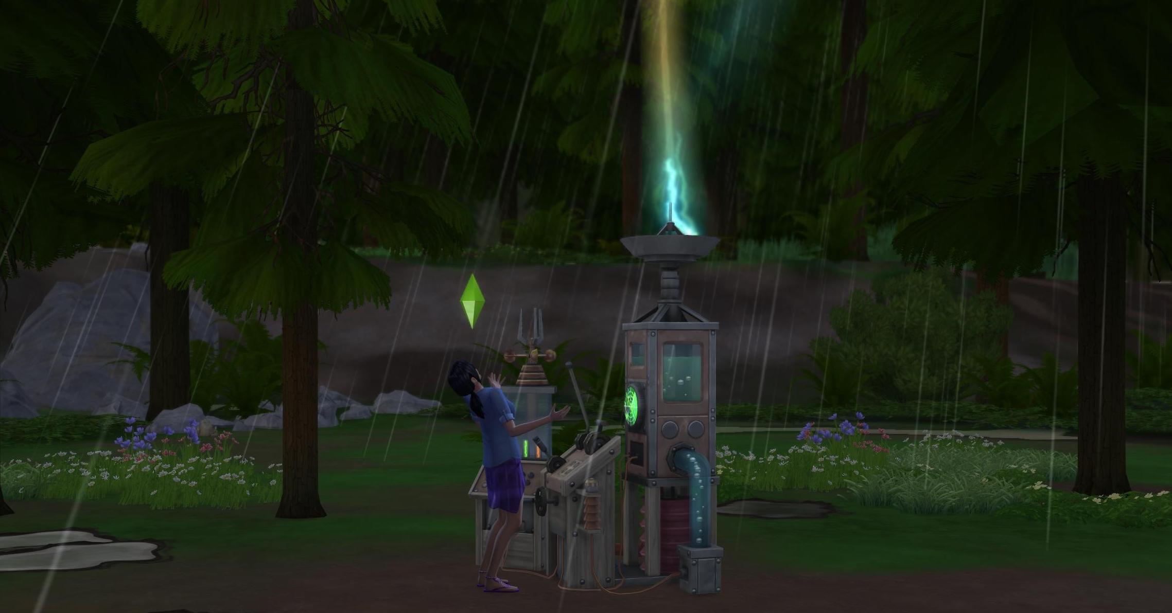 Météo Les Sims 4 Saisons