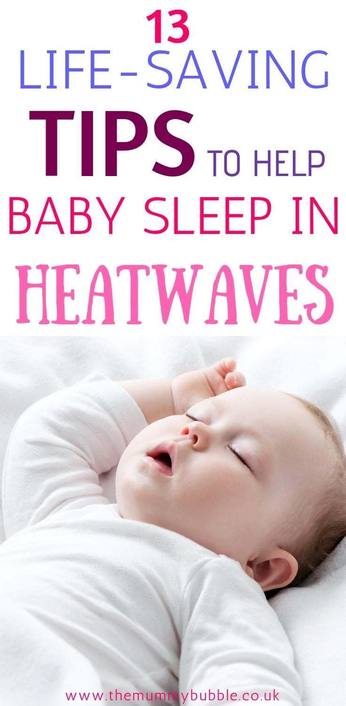 Comment Rafraichir Une Chambre De Bébé 13 façons d'aider votre bébé à dormir par temps chaud