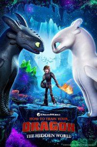 """Photo de l'affiche du film """"Comment dresser son dragon - Le monde caché"""""""