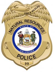 Image du bouclier de la DNREC Fish & Wildlife Police