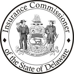 Image du sceau d'État du commissaire aux assurances
