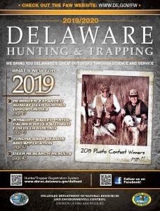 Couverture du guide de chasse du Delaware 2019/20