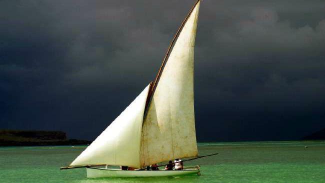 Bateau de pêcheur Maurice