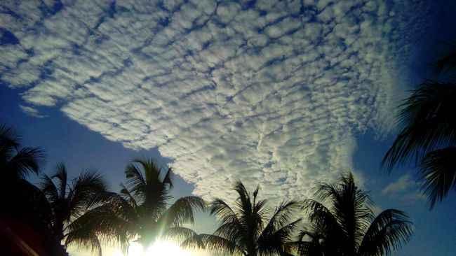 formation de nuages tropicaux
