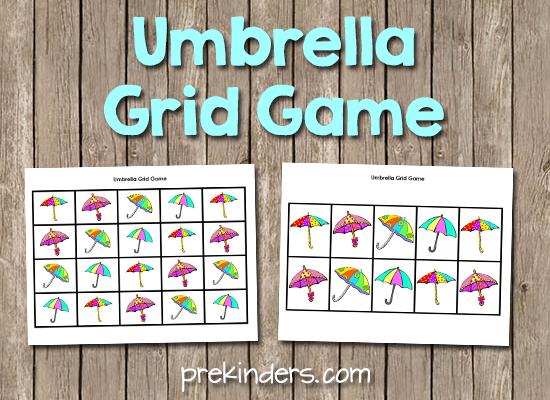 Umbrella Grid Game