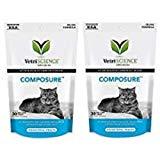 Vetri Composure for Cats Taille: Paquet de 2 (Total 60 à mâcher en bouchées)