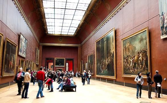 Louvre en hiver. Photo de Ramon Morales.