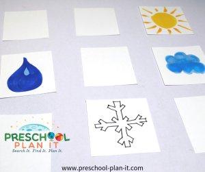 Match pour les enfants d'âge préscolaire
