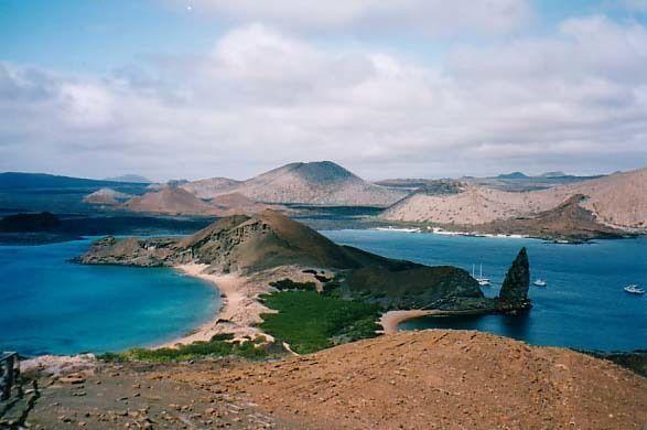 galapagos et son beau temps