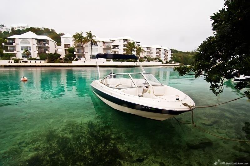 les bermudes profitent du beau temps