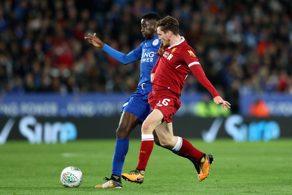 Leicester v Liverpool dans la Coupe Carabao
