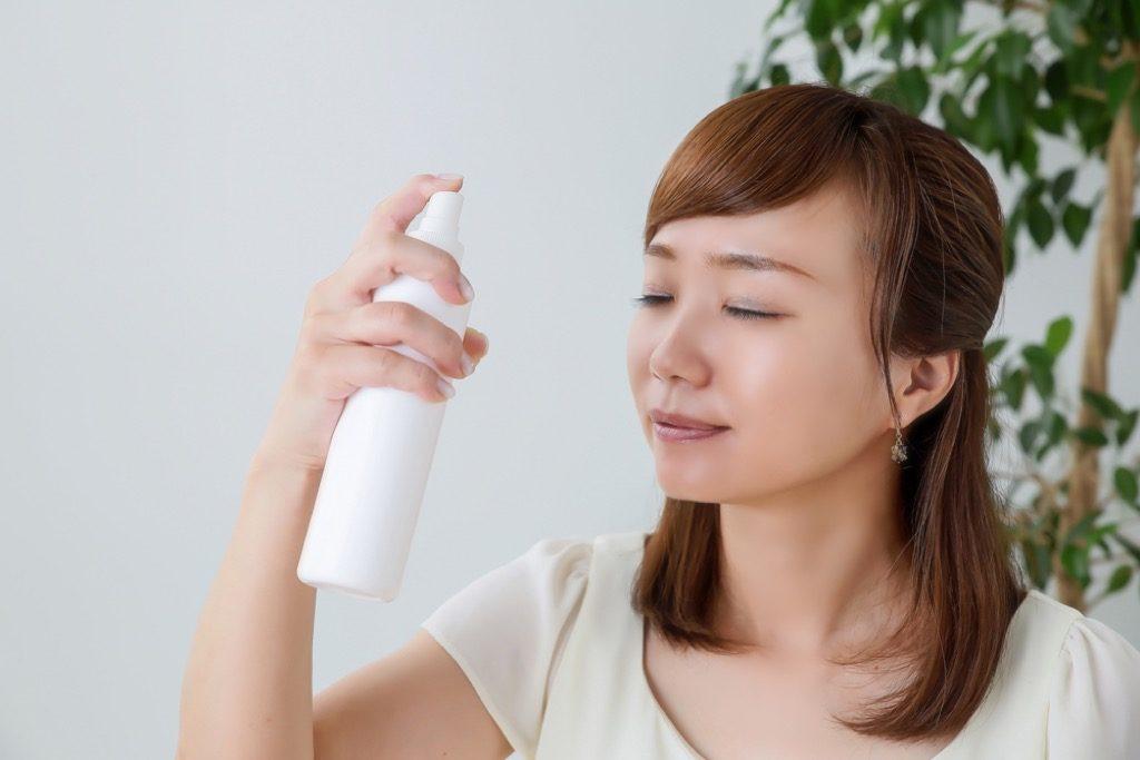 "Facial spray better summer sleep"" width=""1024"" height=""683"" srcset=""https://i2.wp.com/bestlifeonline.com/wp-content/uploads/2018/05/Woman-Misting-Skin.jpg?w=1024&ssl=1 1024w, https://i2.wp.com/bestlifeonline.com/wp-content/uploads/2018/05/Woman-Misting-Skin.jpg?resize=500%2C333&ssl=1 500w, https://i2.wp.com/bestlifeonline.com/wp-content/uploads/2018/05/Woman-Misting-Skin.jpg?resize=768%2C512&ssl=1 768w"" sizes=""(max-width: 1000px) 100vw, 1000px"" data-recalc-dims=""1"