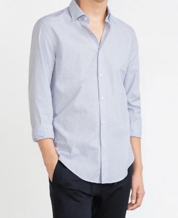chemise-froncée