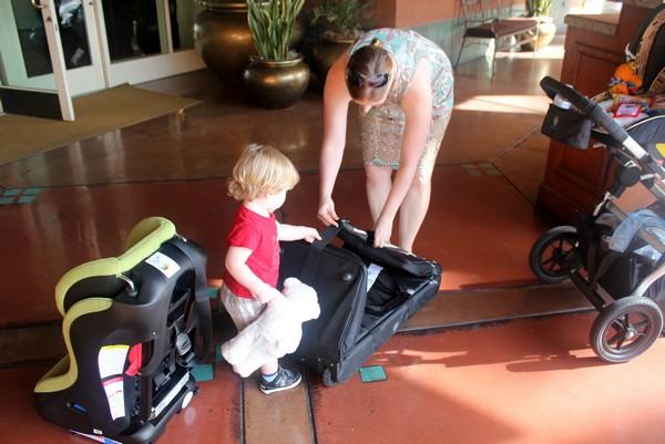 Siège d'auto Weelee Clek, conseils de voyage pour bébé
