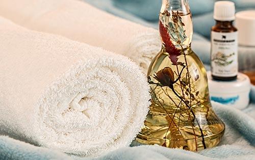 Journée au spa par temps chaud, y compris l'aromathérapie