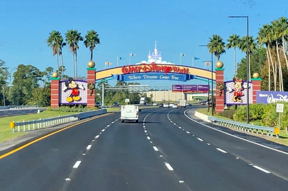Entrée à Walt Disney World