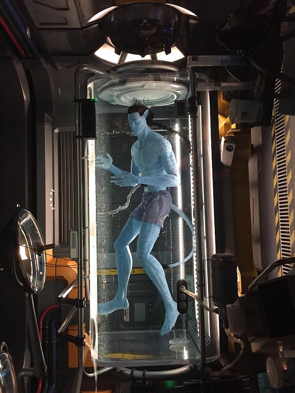 Attraction d'avatar à Disney World