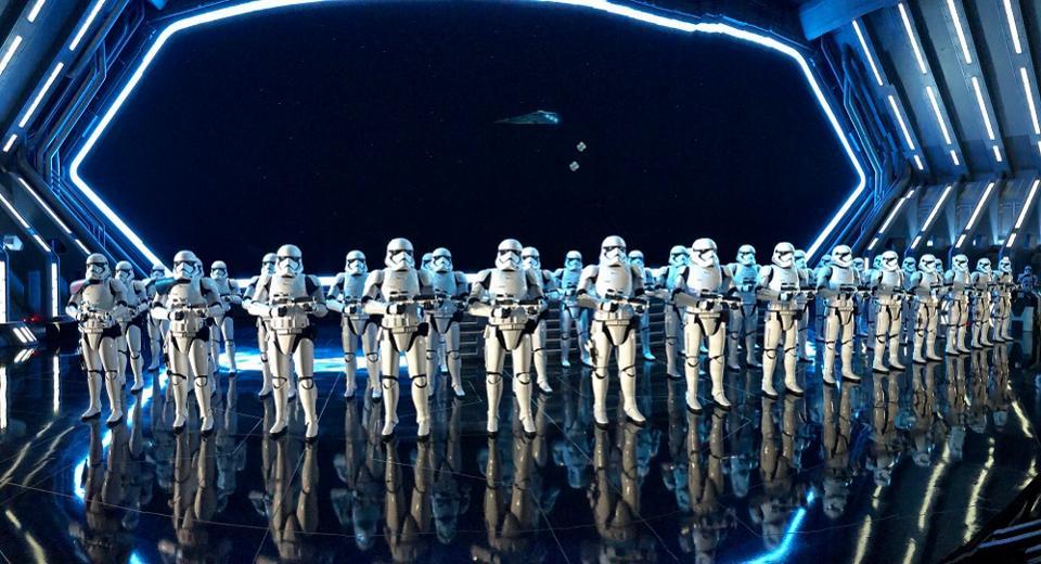 Star Wars Rise of the Resistance à Walt Disney World