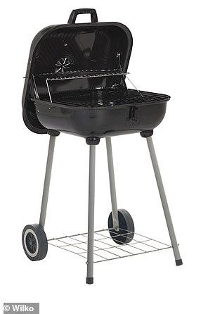 Sur un budget? Ce barbecue au charbon de bois carré coûte 25 £